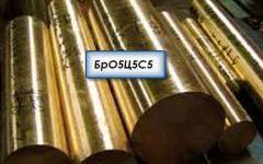 Заготовки из металла;Заготовки бронзовые БрО5Ц5С5,