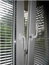 Janelas com vidros duplos com persianas integradas