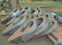 Semi-finished products steel. Semi-finished
