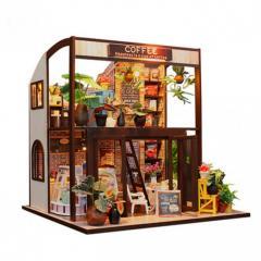 3D Интерьерный конструктор Midesize Diy Doll House Coffe house SKL25-223375