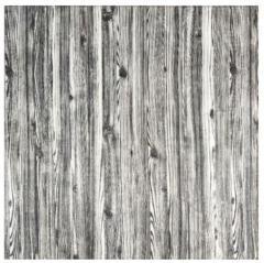 3D панель, обои, Самоклеящаяся, Sticker Wall, 70 x 70 x 0,7 см, Серебристое дерево SKL33-159354