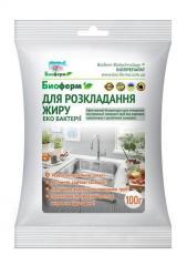 Biopreparats for biodegradation of domestic and