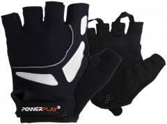 Велорукавички PowerPlay 5087 Чорні M SKL24-144535