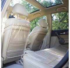 Защита на спинку сиденья и сидушку в машину