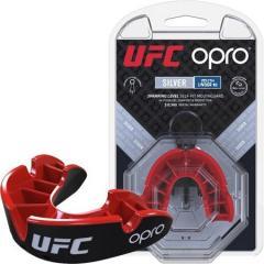 Капа Opro Junior Silver Ufc Hologram Black-Red SKL24-145157