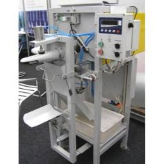 Шнековая машина для клапанных мешков
