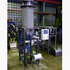 The pneumatic machine for valve bags