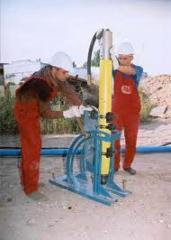 Оборудование для вертикального забивания...