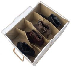 Органайзер для обуви на 4 пары Organize бежевый