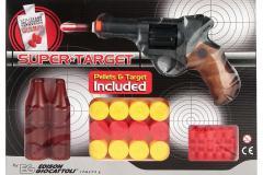 Пистолет Edison Supertarget 19см 6-зарядный с