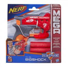 Пистолет Нерф с большими стрелами - Bigshock,