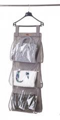 Подвесной органайзер для хранения сумок L Organize серый HBag-L SKL34-176317