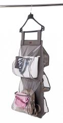 Подвесной органайзер для хранения сумок Plus Organize серый HBag-Plus SKL34-176320