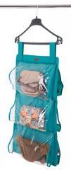 Подвесной органайзер для хранения сумок S Organize лазурь HBag-SSKL34-176322