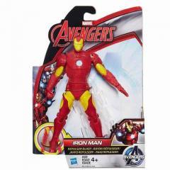 Подвижная фигурка Железного Человека 15 см,Iron Man,Avengers,Initiative,Repulsor Blast,Hasbro SKL14-143409
