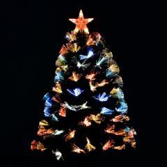 Ёлка Искусственная новогодняя светящаяся 60 см