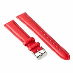 Ремешок для часов Ziz маково-красный, серебро SKL22-142894