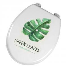 Сиденье для унитаза Bathlux Green Leaves...