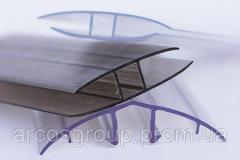 Профиль поликарбонатный ТМ Carboglass UP торцевой