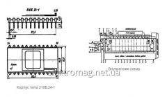 Микросхема К1108ПА1 (А, Б) — 12-разрядные