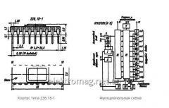Микросхема  К1113ПВ1 (А, Б, В) — аналого-цифровые