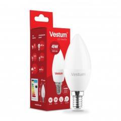 Светодиодная лампа 5 шт VESTUM C37 4W 4100K 220V
