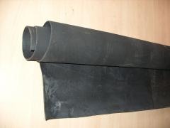 Technical plate rubber