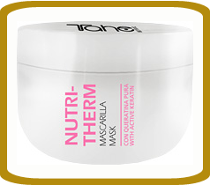Mask for hair from a pure keratin