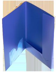 Folders are plastic individual