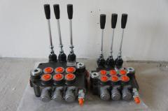 Гидрораспределитель Р80 3х секционный 80 л/мин р80