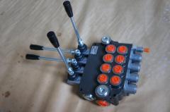 Гидрораспределитель Р80 4х секционный 80 л/мин р80