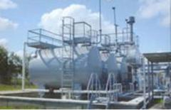 Installation of complex preparation of gas in
