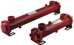 Водяной теплообменник SA080-150-S4 30-80л/мин OMT