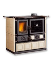 Heating and cooking furnace, Rosa Majolica Nordica