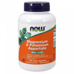 Минералы NOW Foods, Magnesium & Potassium