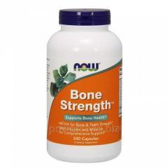 Минералы NOW Foods, Bone Strength, 240 капсул