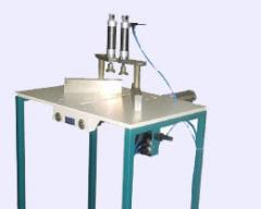The machine for cleaning of a welding seam of