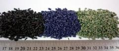 Secondary polymeric raw materials