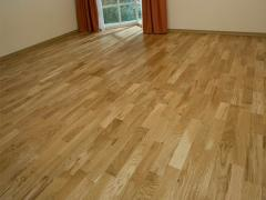 Parquet board from an oak, export, the price