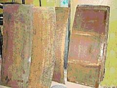 Sieve for zhomootzhimny press of PSZhN-68