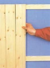 Boards for covering of walls and ceilings to