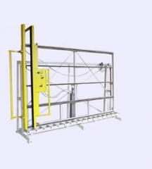 Стенд для сборки и контроля оконных блоков ССК