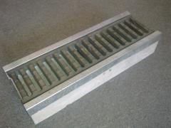 Los tenderetes de hormigón, de hierro fundido con