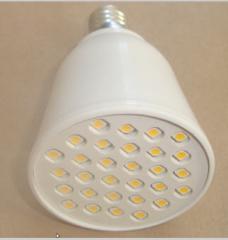 Светодиодны лампа Е27;  Е14;  30 светодиодов