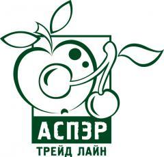 Mashed potatoes apple, strawberry, asbrikosovy,