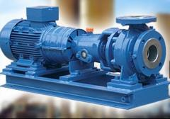 Pumps for the chemical and food industry