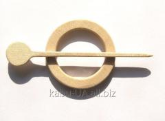 Hairpins for jersey (clips for shawls)