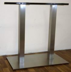 Double underframe from stainless steel