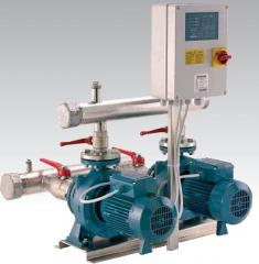 Fire vacuum Series F systems