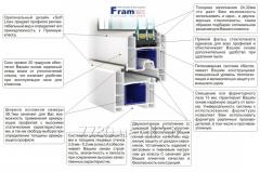 Окна металлопластиковые(FRAMEX ,71 мм)